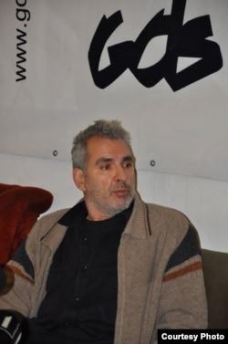 Andrei Ursu în greva foamei la București