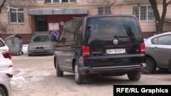 Журналісти помітили, що Зеленський пересувається по місту в супроводі авто компанії з умовної бізнес-групи «Приват» Коломойського