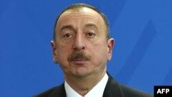 Президент Азейрбайджана Ильхам Алиев.
