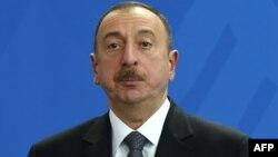 Әзербайжан президенті Ильхам Әлиев. Берлин, 7 маусым 2016 жыл.