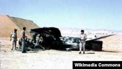 Un avion egiptean distrus