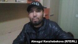 Алматы тұрғыны Асылхан Ақбаев.