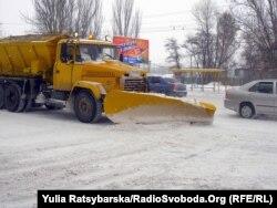 Після снігопаду у Дніпропетровську