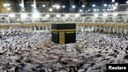 Every able-bodied Muslim is expected to make the Hajj pilgrimage to Mecca at least once in their lifetime. (file photo)