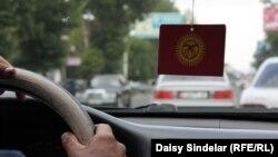 Такси в Кыргызстане. Иллюстративное фото.