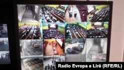 Ilustrim - Kamerat e sigurisë në një shkollë në Kosovë