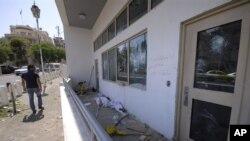 Американската амбасада во Сирија по немирите во земјата