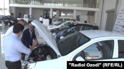Автосалон «Ravon» в Душанбе.