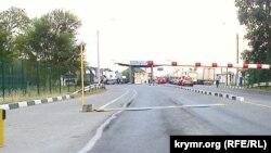 Админграница между Крымом и Украиной