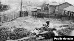 Жертви голоду. Харківщина, 1933 рік, архівне фото