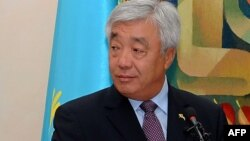 Қазақстан сыртқы істер министрі Ерлан Ыдырысов. Астана, 19 тамыз, 2013 жыл.