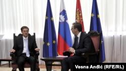 Miro Cerar i Aleksandar Vučić