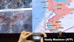 Prikaz sigurnih zona u Siriji