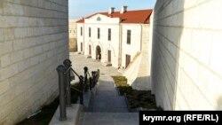 Переходы между зданиями Константиновской батареи