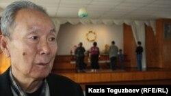 Василий Дон – вон-буддизм дінін ұстанушы. Алматы, 7 сәуір 2013 жыл.