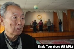 Василий Дон, прихожанин буддийского храма. Алматы, апрель 2013 года.