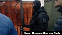 Обыск у правозащитника Святослава Хроменкова