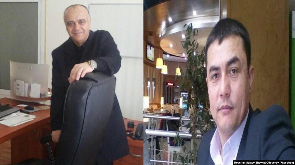 Ровшан Солаев ва Шавкат Оллоëров