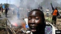 Nastavljeni sukobi na ulicama Nairobija, 3. Januar 2008.