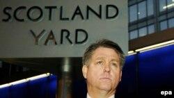 Инспектор Скотленд-Ярда Кевин Хайланд на пресс-конференции в Лондоне, 21 ноября 2013 года.