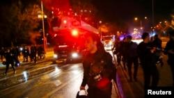 Жардыруудан кийин. Анкара, Түркия. 17-февраль, 2016-жыл