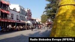 Охрид подготвен за пречекот на Нова Година 2014.