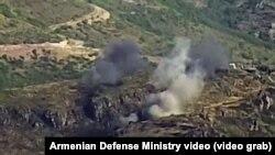 درگیری نیروهای آذربایجان و ارمنستان در مرز دو کشور پس از وقفۀیک روزهاوایل امروز از سر گرفته شد.