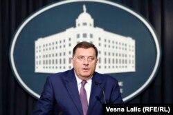 Милорад Додик, один из самых последовательных союзников Кремля на Балканах