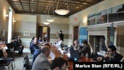 """Заседание в штаб-квартире """"Германского фонда Маршалла Соединенных Штатов"""" в Вашингтоне (архивное фото)"""