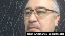Омурбек Текебаев. Декабрь 2017 года.