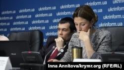 Advokat Emil Kurbedinov ve Ukraina Haber siyaseti naziriniñ birinci muavini Emine Ceppar