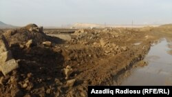 Azerbaijan -- the road to the prisons close to Baku, 28Oct2015
