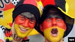Болельщики футбольной сборной Германии