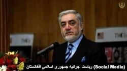 د افغان حکومت اجرائيه رئيس عبدالله عبدالله