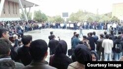 Իրան - Էթնիկ ադրբեջանցիների բողոքի ցույցը Թավրիզում, 10-ը նոյեմբերի, 2015թ․