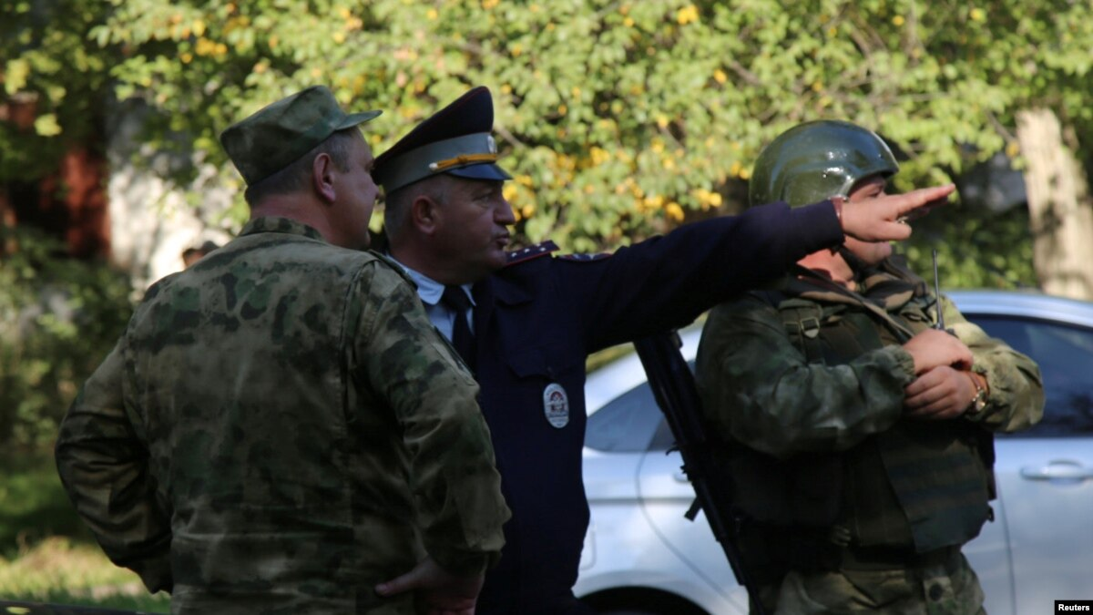 Russia Sends In National Guard After Crimea School-Shooting Rampage