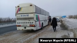The route is widely used by Uzbek, Tajik, and other Central Asian migrant workers to travel to and from Russia.