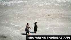 عکسی از دریاچه ارومیه (عکس آرشیوی است)