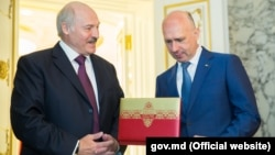 Аляксандар Лукашэнка і Павл Філіп