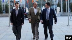 Средба на премиерот Никола Груевски со мексиканскиот телекомуникациски магнат Карлос Слим