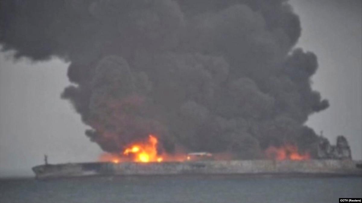 پاناما: تحقیقات درباره نفتکش سانچی ممکن است ماهها یا سالها طول بکشد