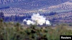 Обстрел турецкой территории со стороны Сирии, 8 октября