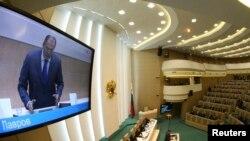 Рада федерації, Москва, 21 березня 2014 року