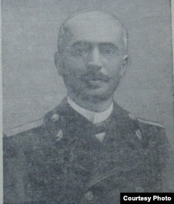 Azərbaycanlı aktyor, jurnalsit, yazıçı Əsgər Ağa Gorani (1857-1910).