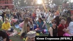 Все события фестиваля проходили под открытым небом