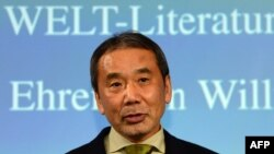Yapon yazıçısı Haruki Murakami.