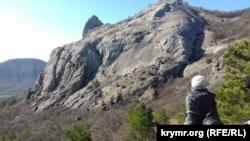 Поход по крымским горам, февраль 2020 года