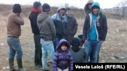 Евробиримдикке жете албай учурда Сербияда турган мигранттар. 7-сентябрь, 2015-жыл