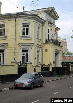 Бинои сафорати Тоҷикистон дар Маскав