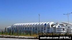 """Türkmenistanyň paýtagtyndaky """"Aşgabat"""" stadiony"""